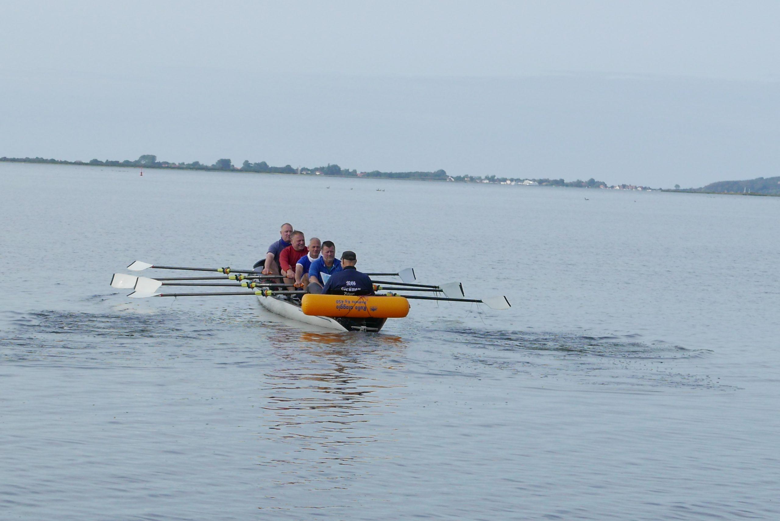 Rund um Rügen mit dem Coastal Rowing Boot